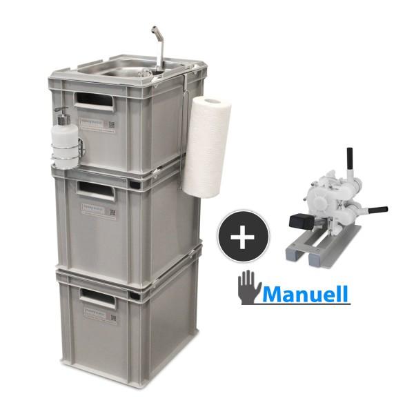 manueller Betrieb, mobile Wasserversorgung