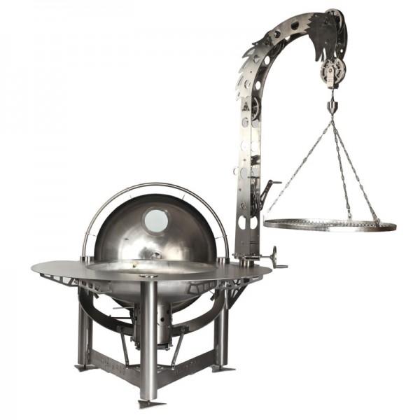 Der teuerste Grill der Welt - Hydra 900 High End Holzkohlegrill