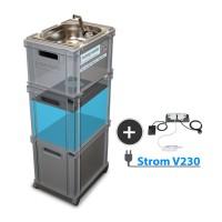 230V Betrieb, mobile Wasserversorgung